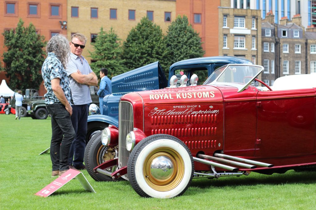 A 1932 Ford Model B V8 Roadster hot rod_London Concours 2020_Hagerty