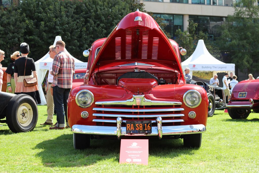 A 1947 Ford Deluxe Coupe hot rod_London Concours 2020_Hagerty
