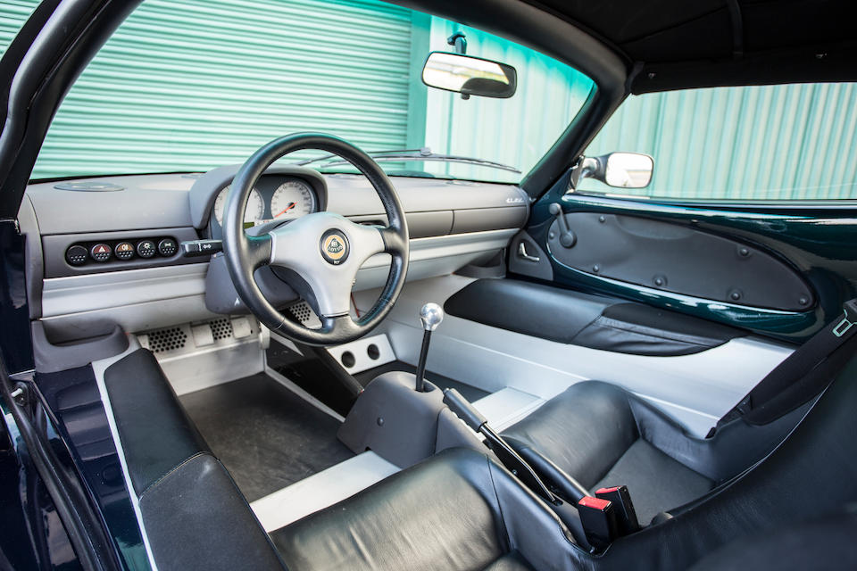 Lotus Elise S1 interior