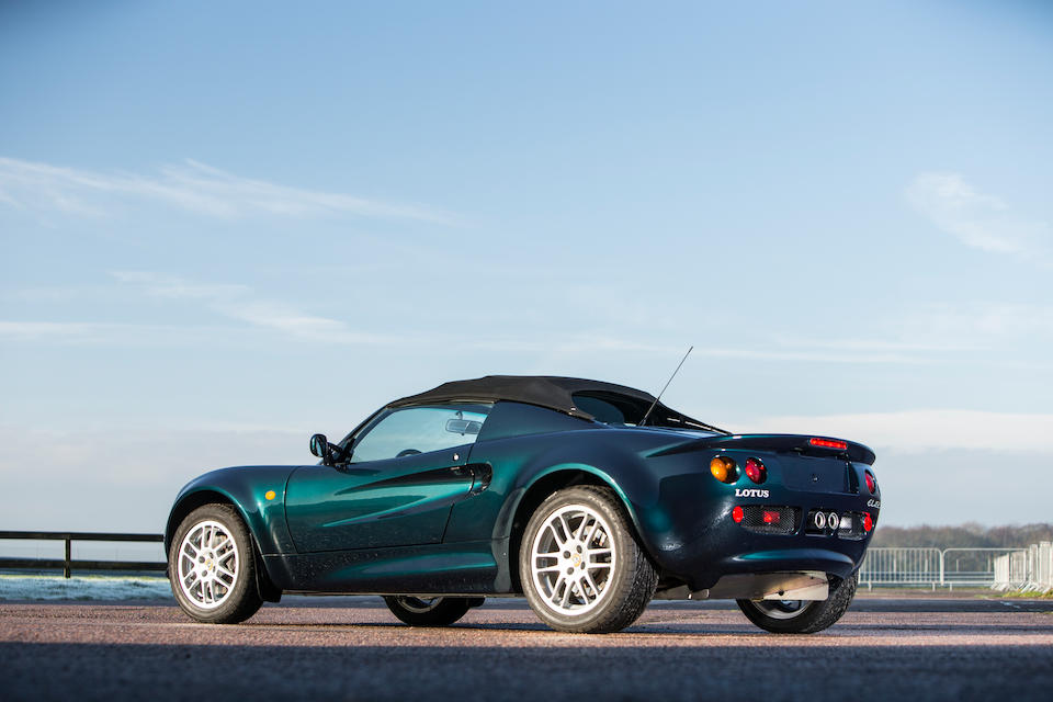 Lotus Elise Series I was a landmark car for the company_Hagerty