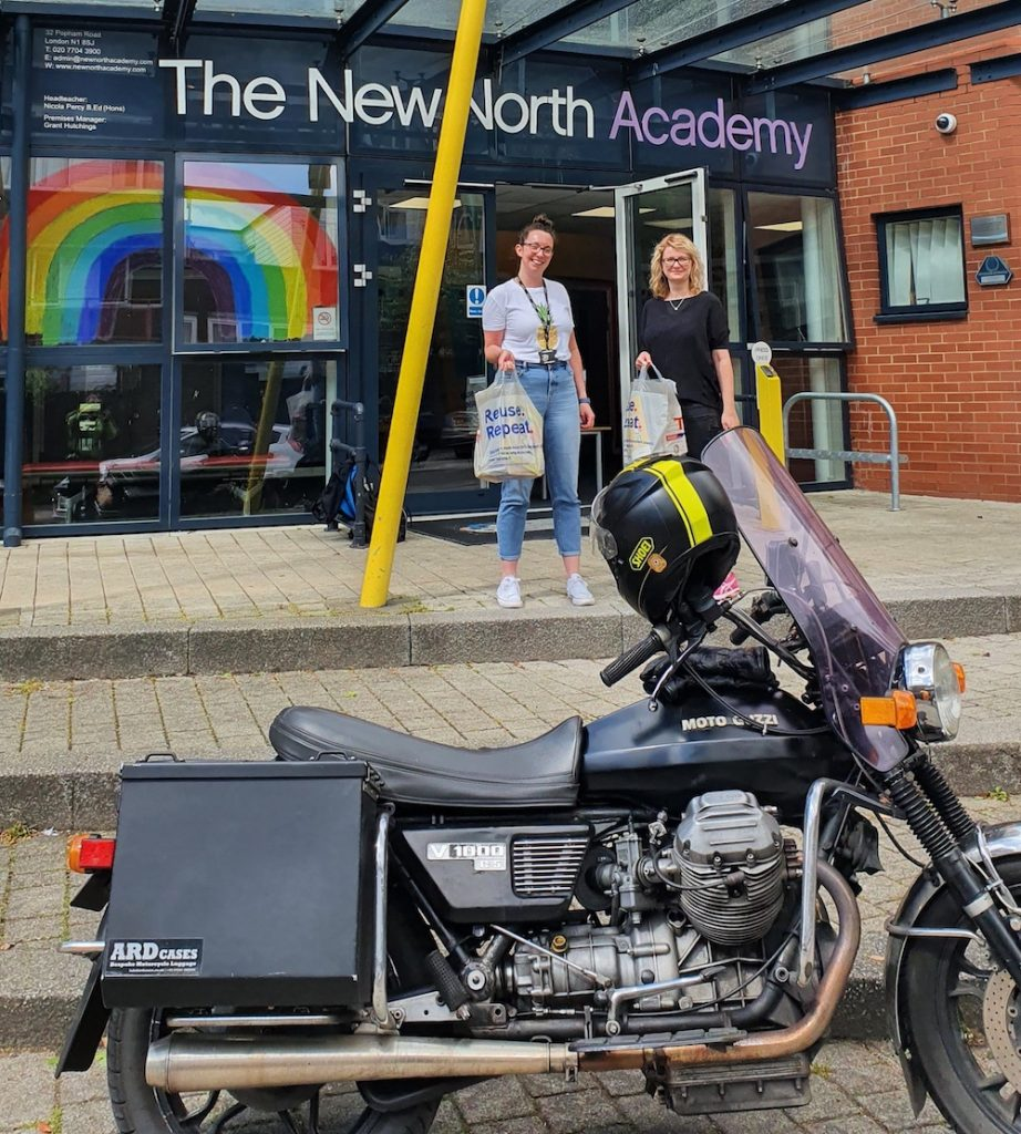 Simon Redfern's 1979 Moto Guzzi V1000G5 has covered 283,000 miles - not all for BSCR