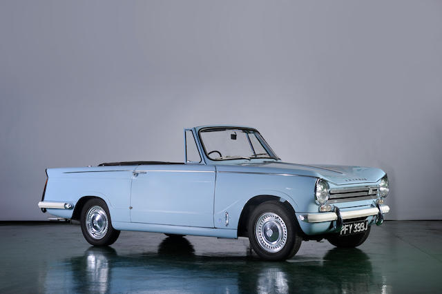 The charming Triumph Herald 13/60 convertible is a safe investment_Hagerty