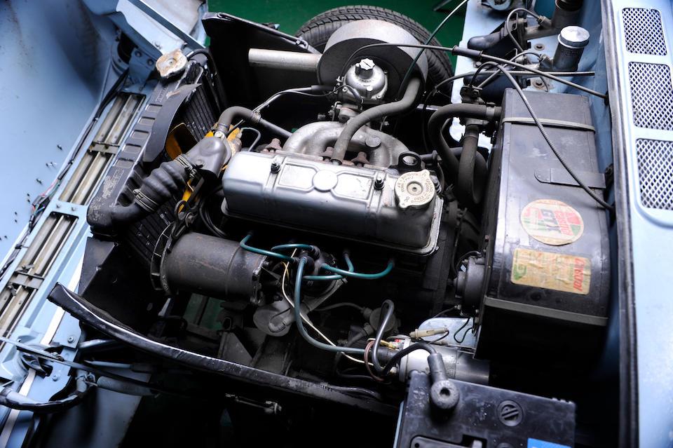 Triumph Herald 13/60 convertible engine bay