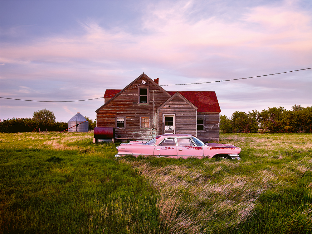 Dieter Klein travels the world in the quest for the perfect photograph of abandoned cars
