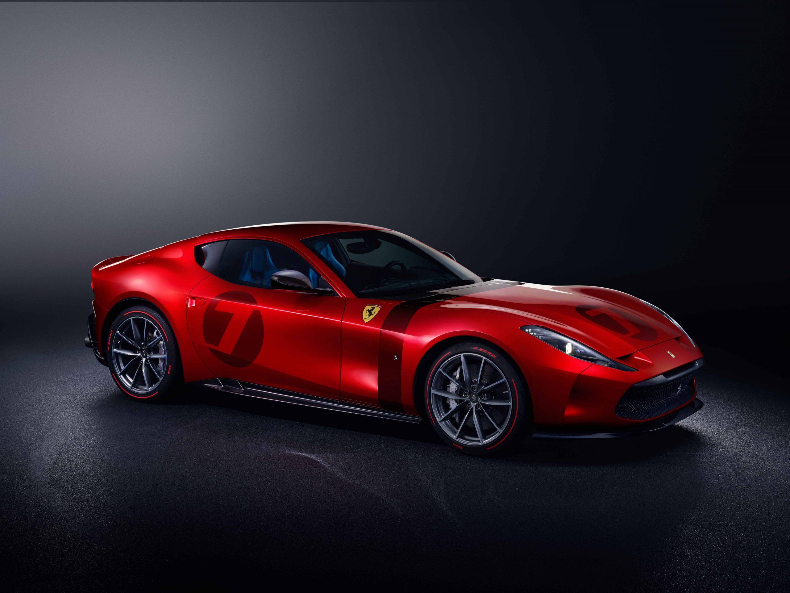 The new Ferrari Omologata supercar is the dream of one lucky gentleman driver