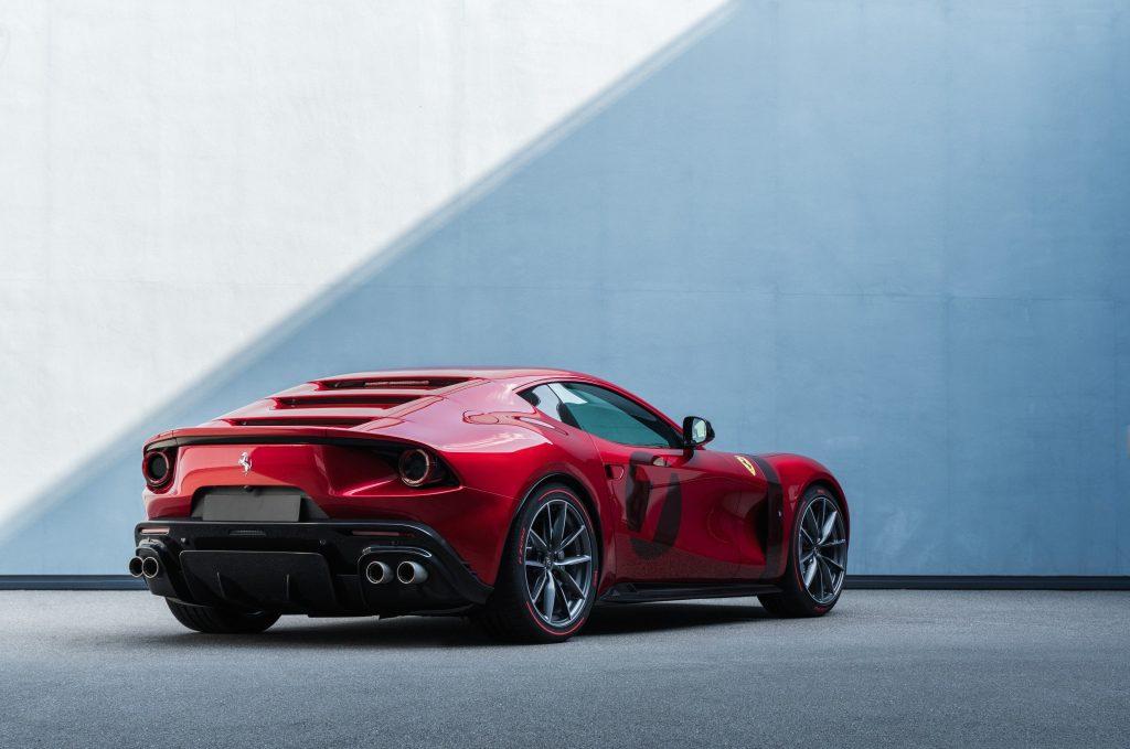 Ferrari Omologata rear view