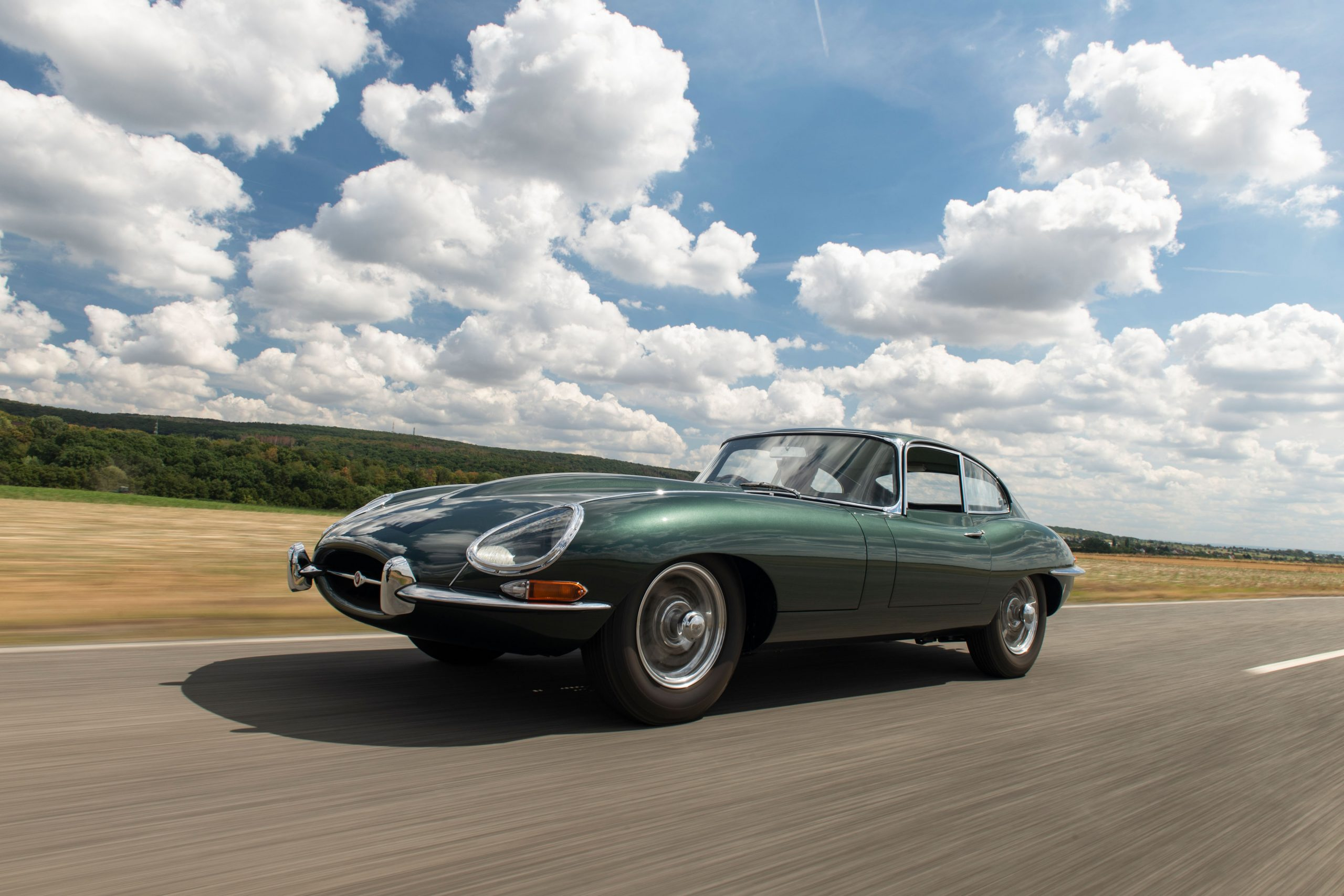 This 1961 Jaguar E-Type hides a fascinating history