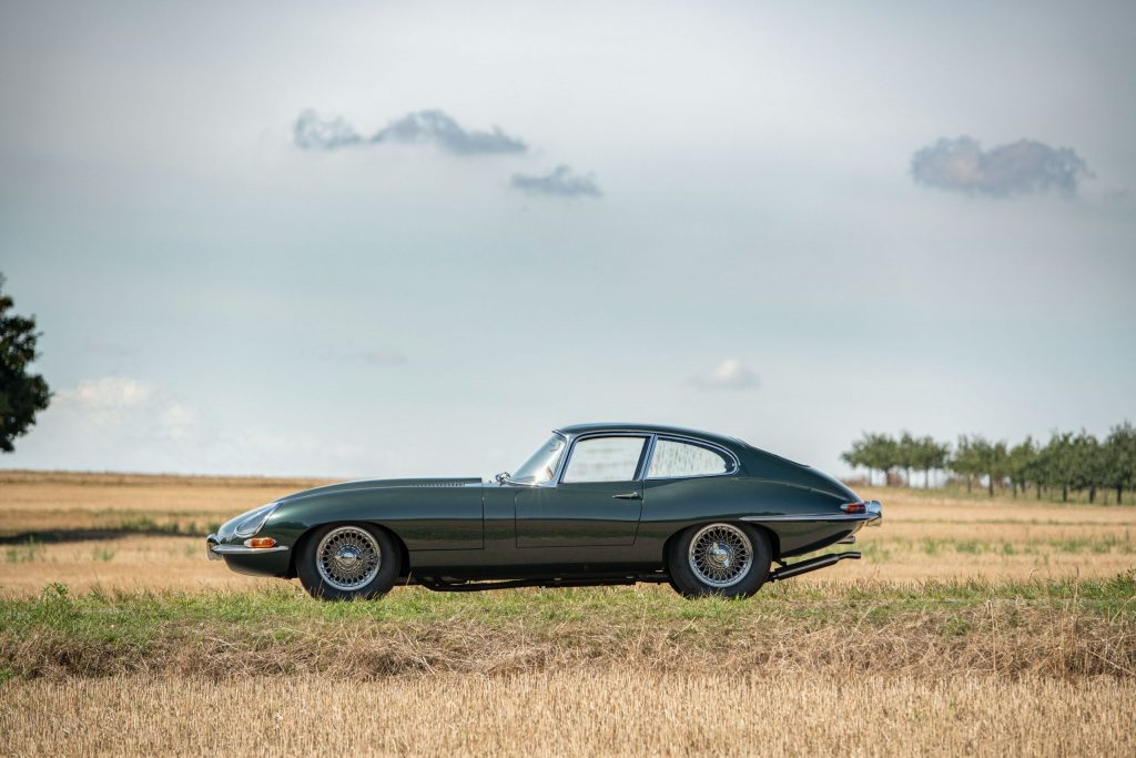RM Sotheby's is auctioning a rare 1961 Jaguar E-Type development and press test car_Hagerty