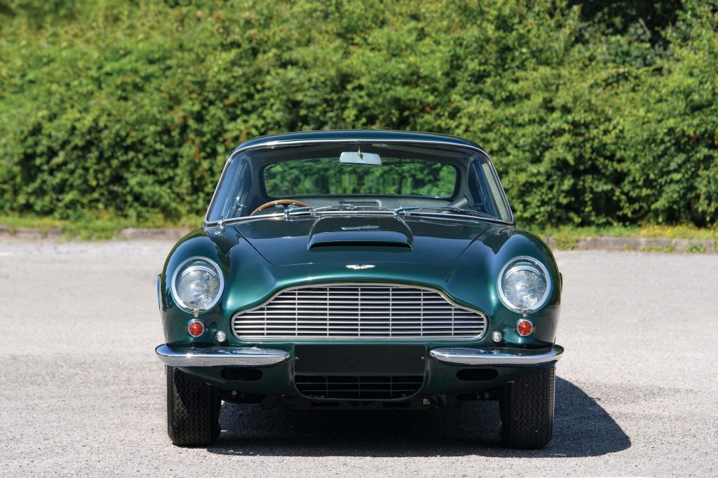 The Aston Martin DB6 has fallen in value, according to the September 2020 Hagerty Price Guide