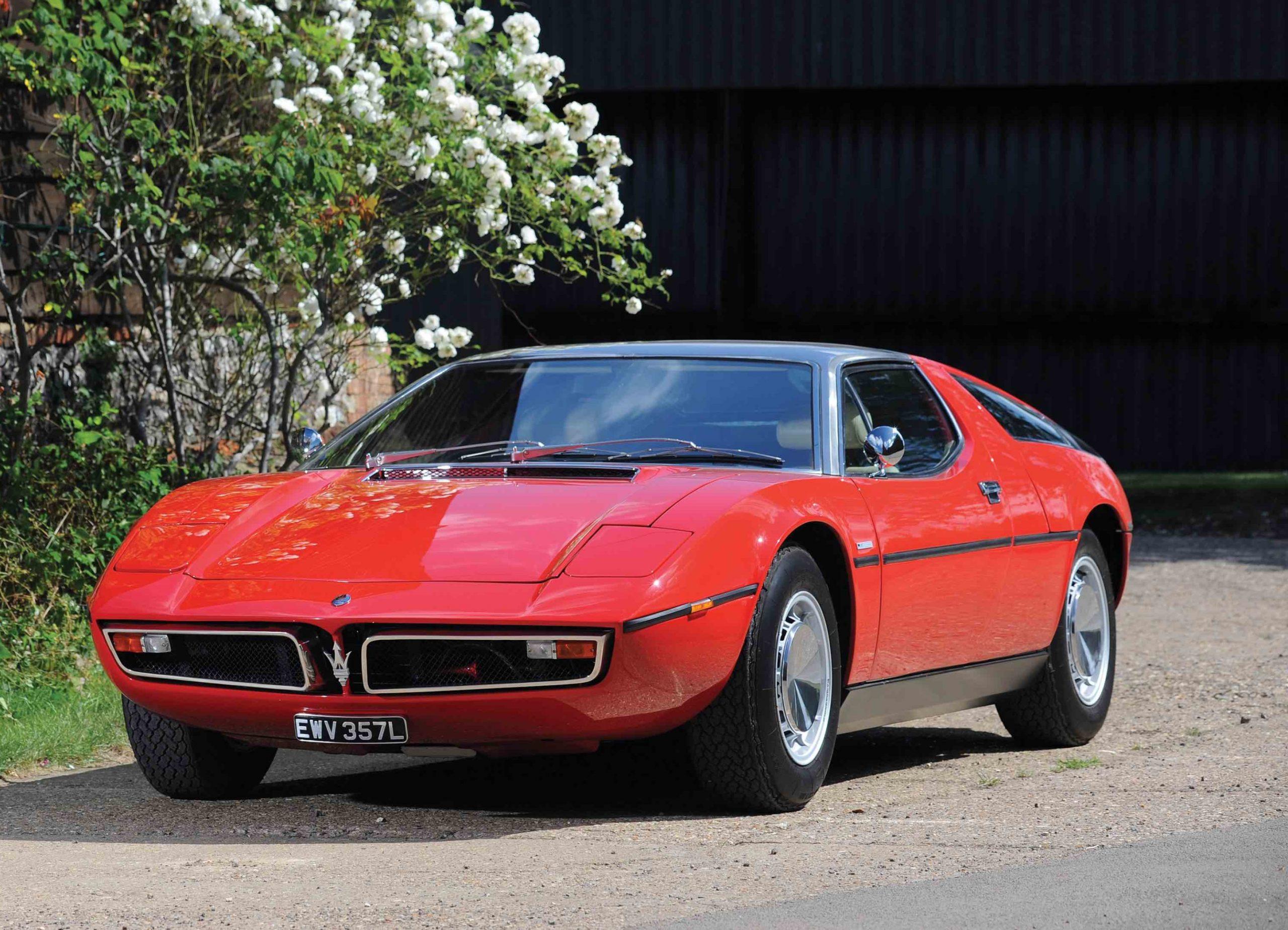 Top tridents: six magnificent Maseratis