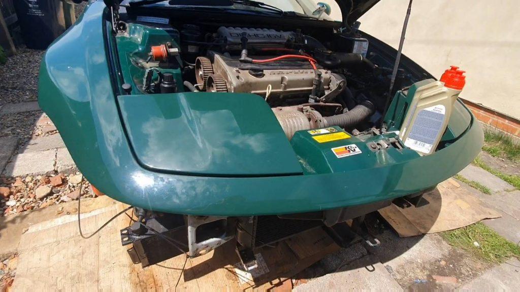 Restoring a Lotus Elan M100
