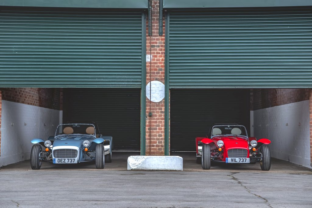 Caterham Super Seven 1600 2020 review_Hagerty James Mills