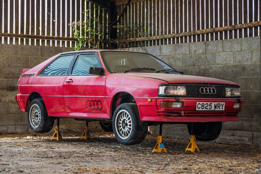Fire up the pressure washer! Barn-find Audi Quattro is a restoration job for the brave