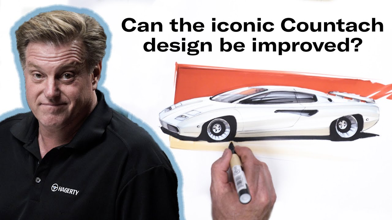 Reimagining the Lamborghini Countach | Chip Foose Draws a Car