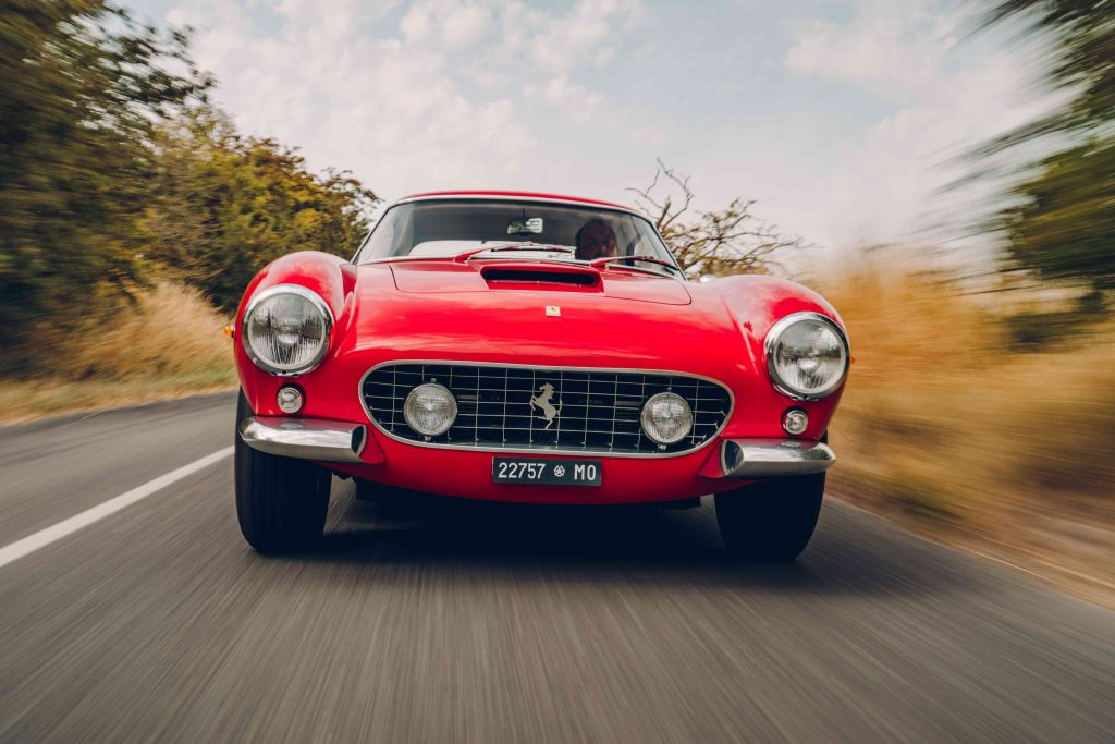 What do you do when your Ferrari 250 GT SWB is too valuable to drive? Buy this recreation and red-line its V12