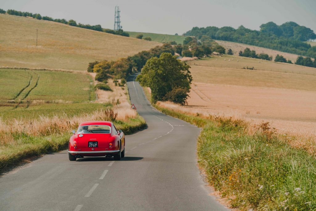 Testing the Ferrari 250 GT SWB recreation is no hardship