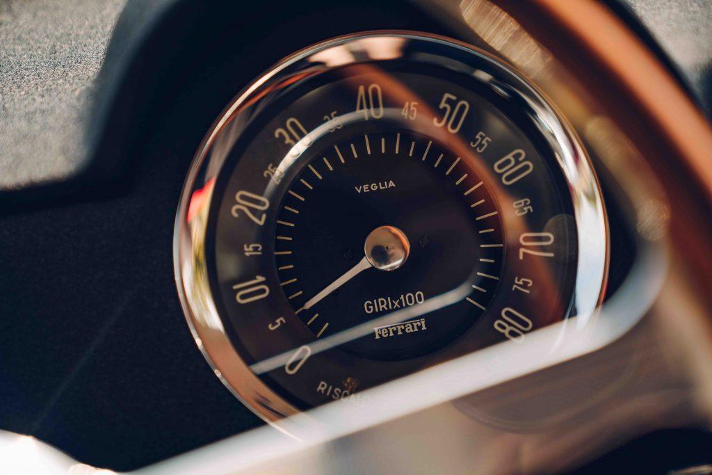 Speedo from the Ferrari 250 GT SWB