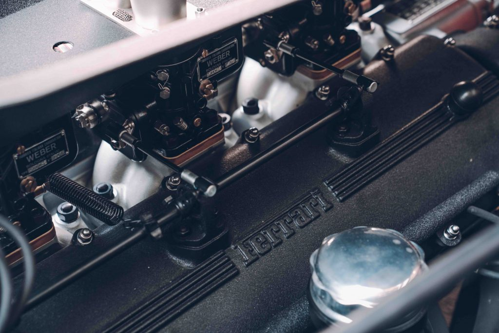 3-litre V12 engine in the Ferrari 250 GT SWB recreation