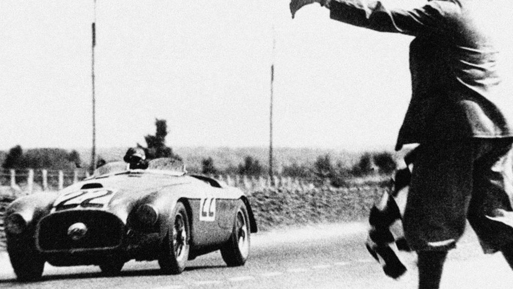 Ferrari 166 at Le Mans 1949