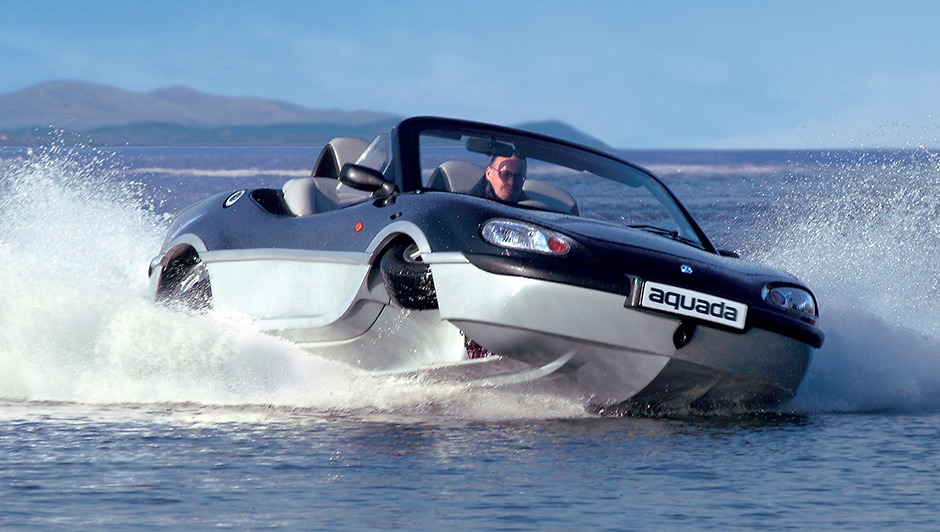 "6 amphibious cars to ""whet"" your aquatic appetite"