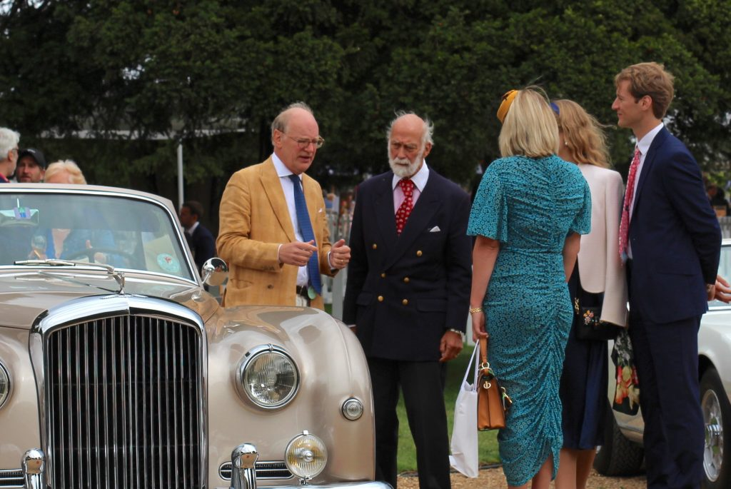 HRH Prince Michael of Kent discusses the finer points of collecting classic cars