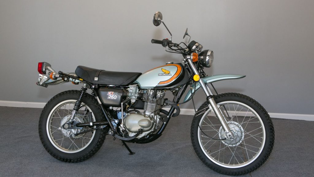 1974 Honda XL250 trail bike is tipped for a rise in values