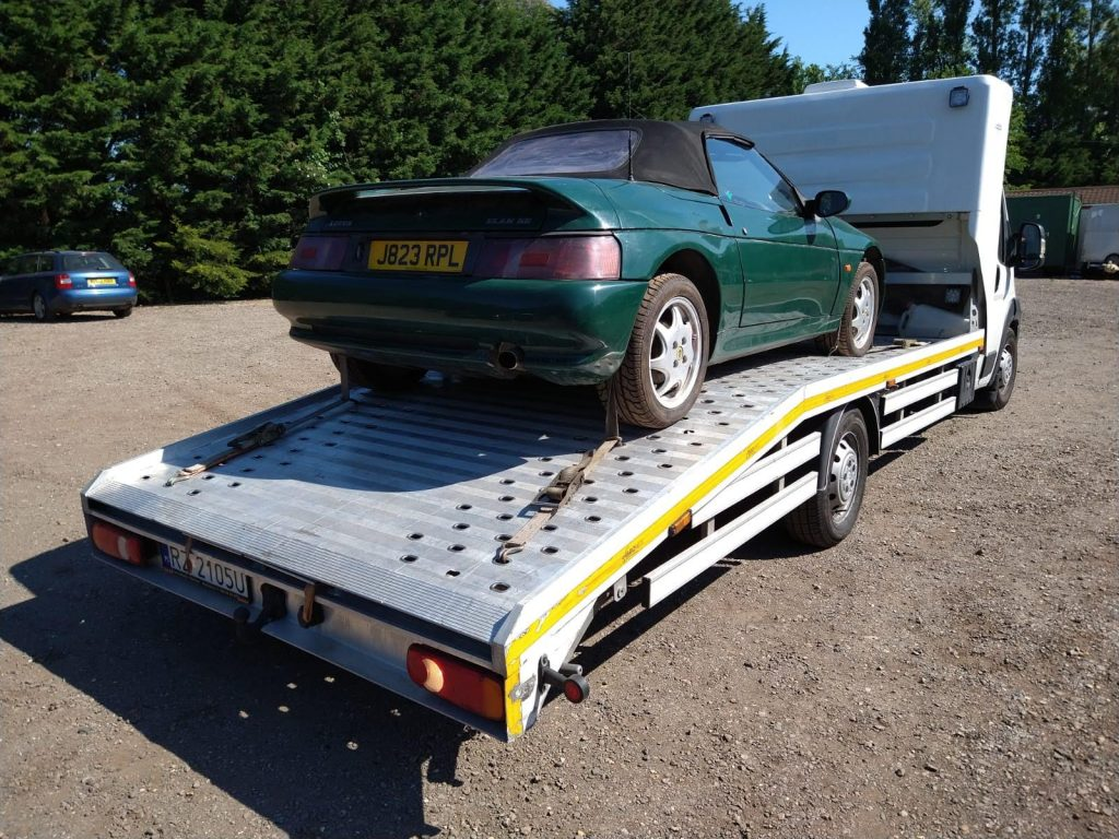 Connor Twomey bought a Lotus Elan M100 and set about restoring it_Hagerty