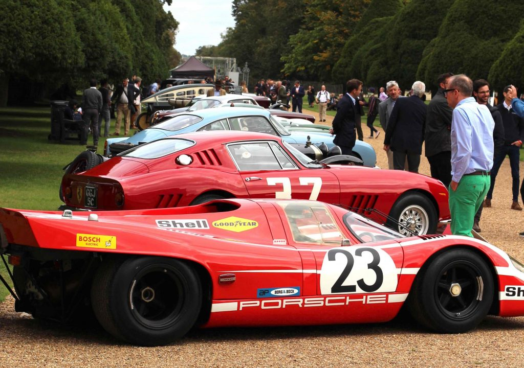 The first Porsche 917 to win at Le Mans