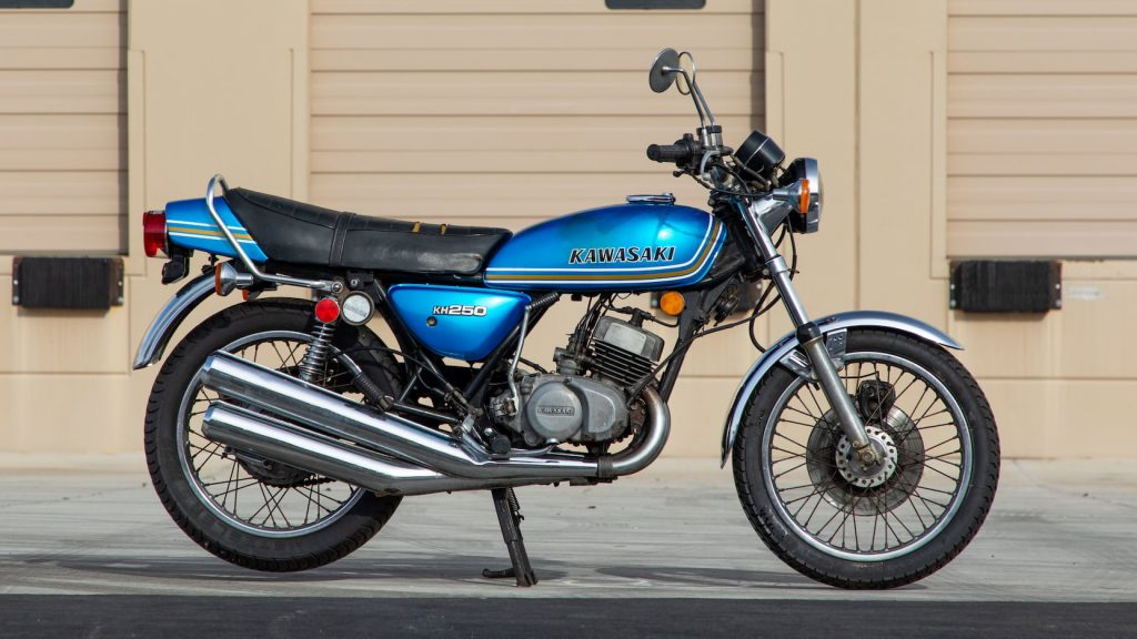 Mid-70s Kawasaki KH250 is tipped to be highly collectible_Hagerty
