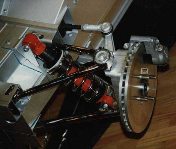 Lotus Elise S1 brakes and suspension