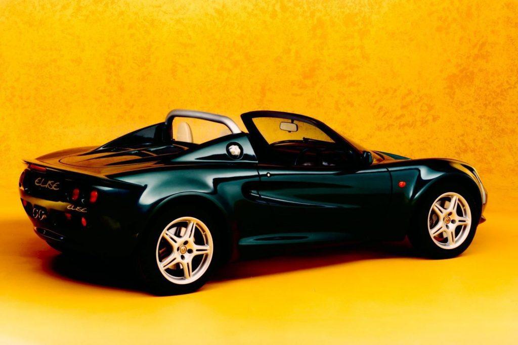 Lotus-Elise S1 launch press photos
