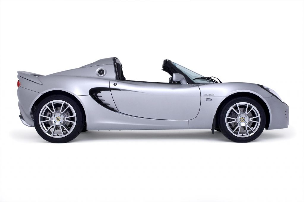 Lotus Elise SC with supercharged Toyota engine