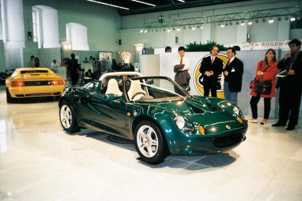 Lotus Elise at the Frankfurt Motor Show