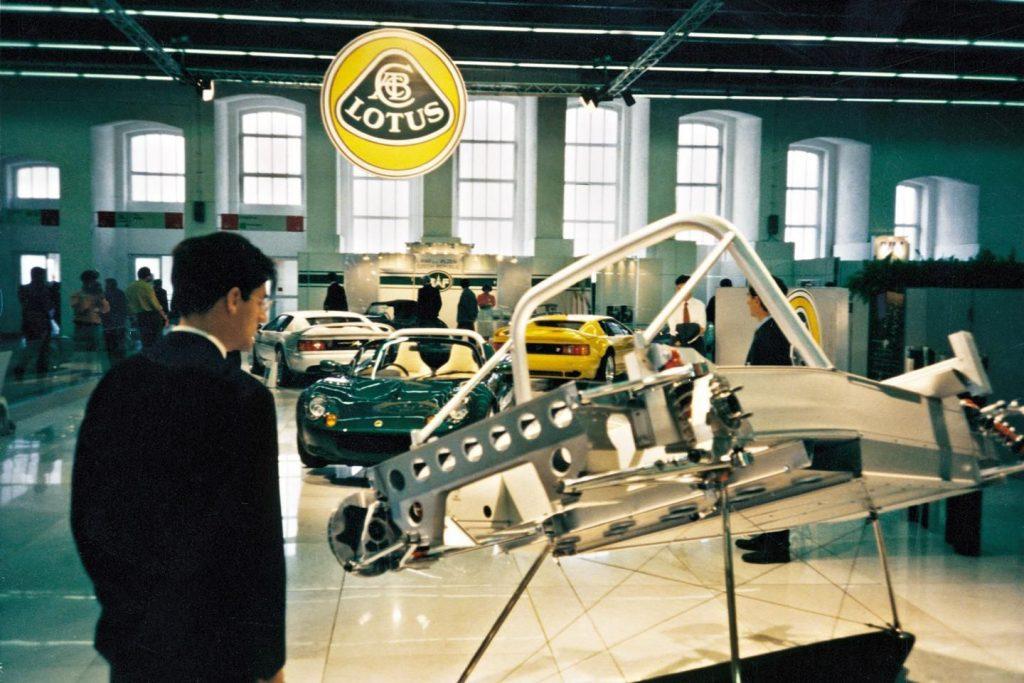 Lotus Elise extruded aluminium chassis_Hagerty