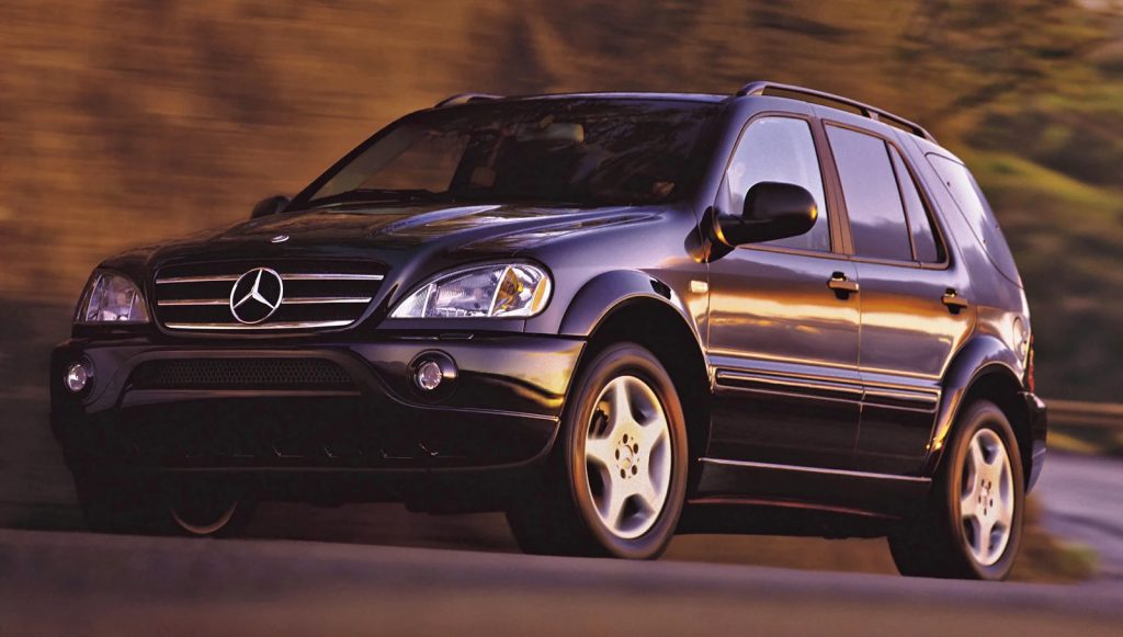 Mercedes ML55 AMG is becoming a sought-after classic