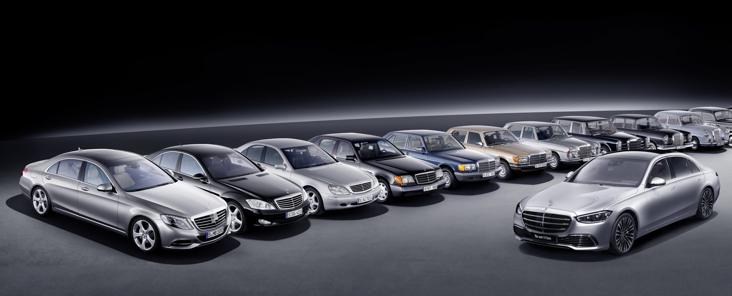Mercedes S-Class: a history of firsts