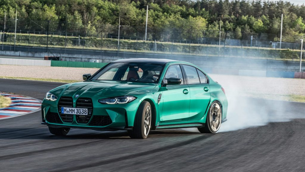 New 2021 BMW M3 Competition will smoke back tyres