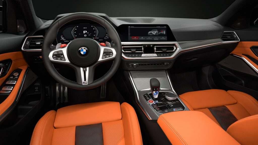 New 2021 BMW M3 and M4 Competition interior