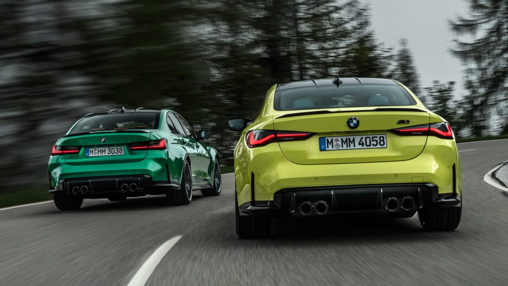 New BMW M3 and M4 2021 full UK pricing and spec