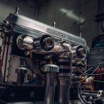 New Bentley Blower Engine on Spitfire test bench