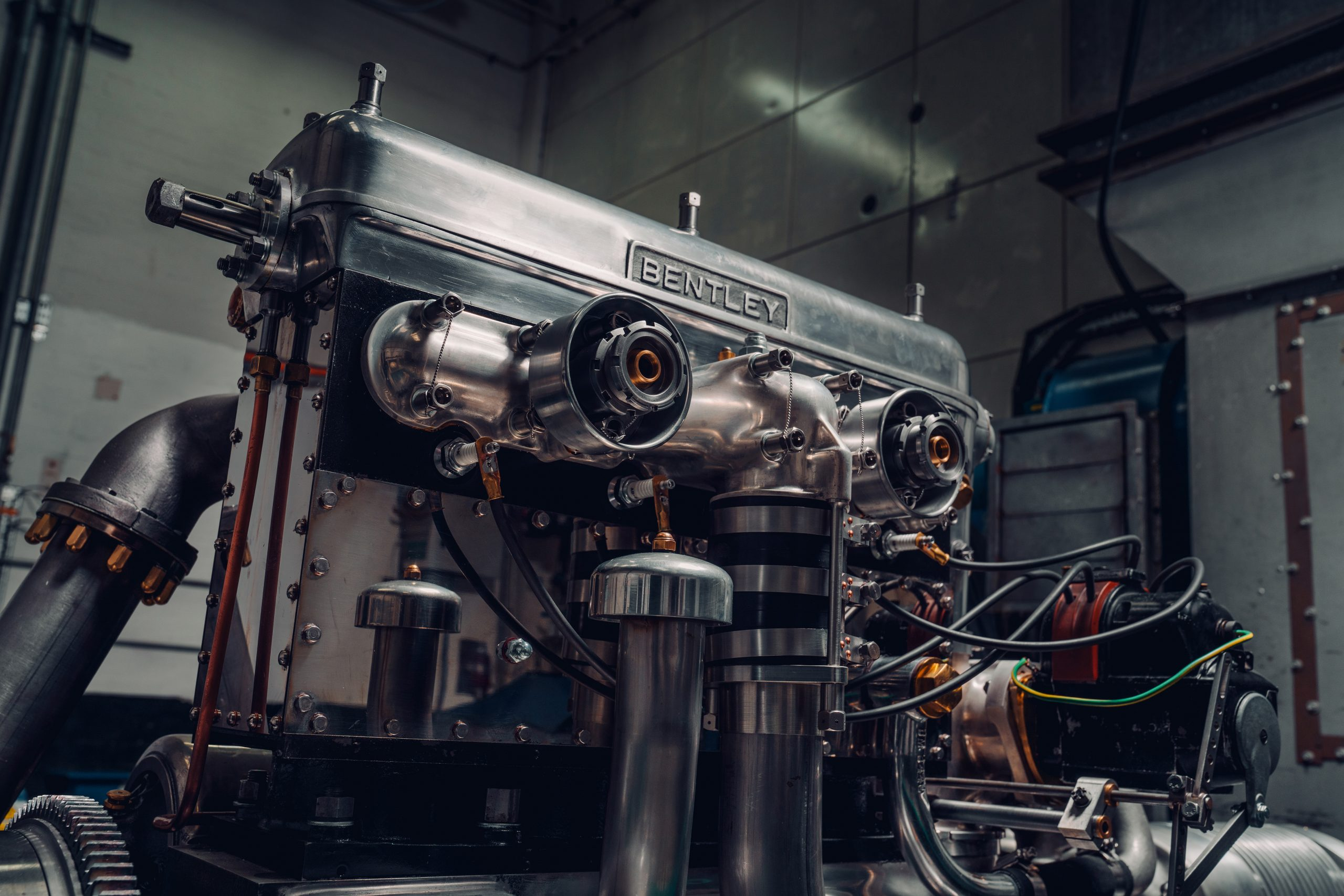 Bentley fires up first new Blower engine – on a Spitfire test rig
