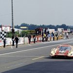 Porsche 917 wins the 1970 Le Mans