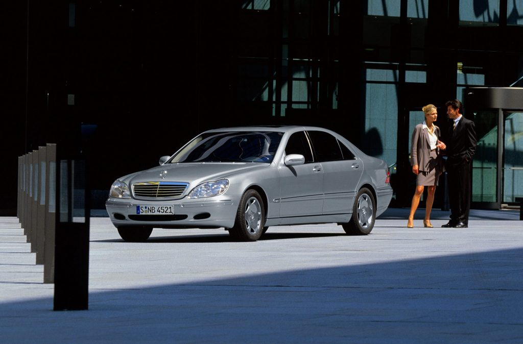 Mercedes S-Class W220 innovations