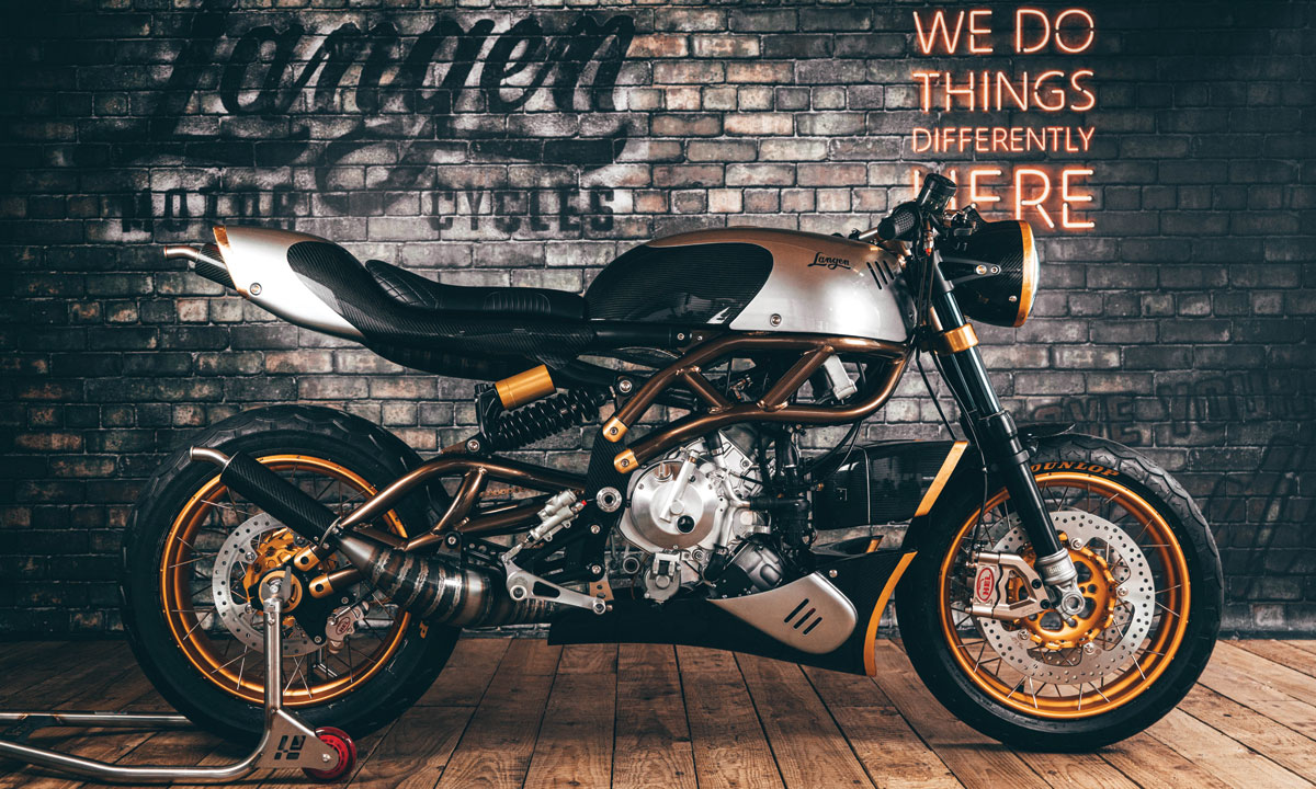 Would you pay £34,000 for this British classy cafe racer?