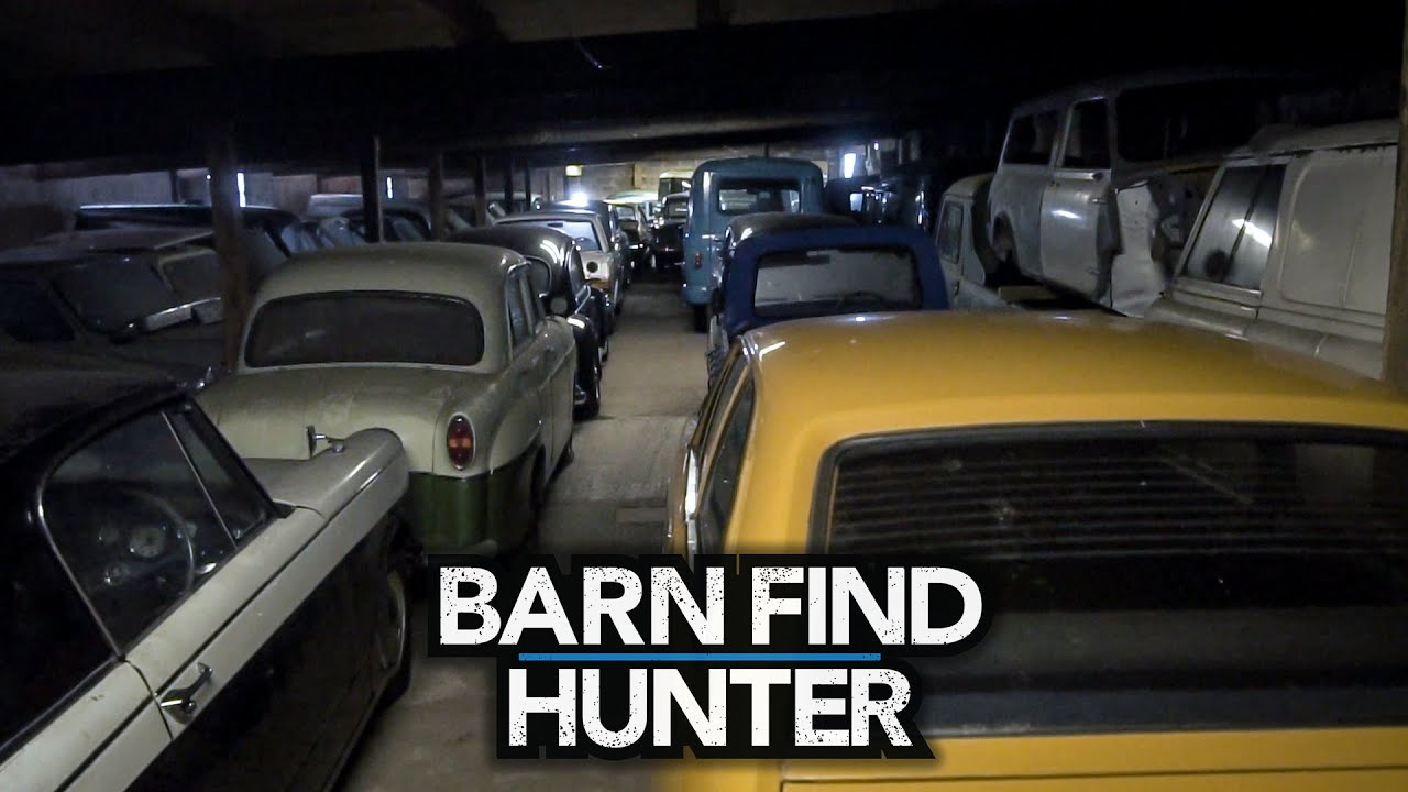 12 barns and 170 classic cars: Tom Cotter and Barn Find Hunter save the best for last during their tour of Britain