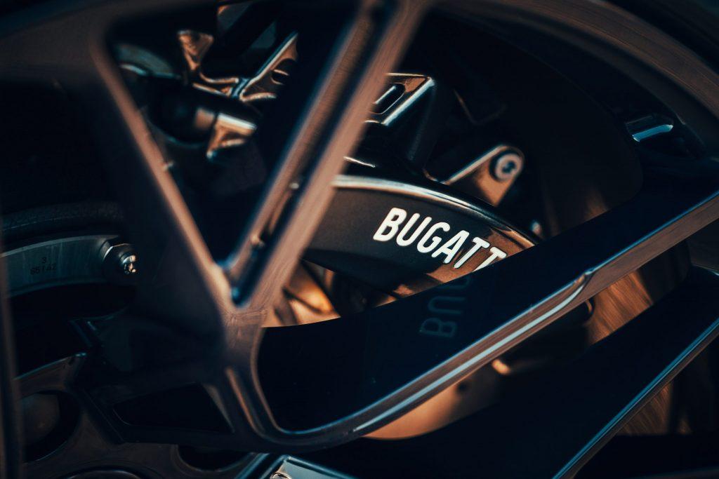 Bugatti Divo on the historic Targa Florio route