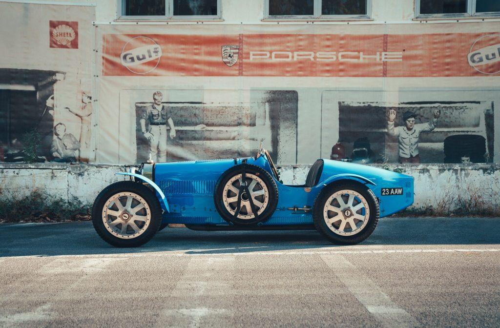 Bugatti Type 35 on the historic Targa Florio route