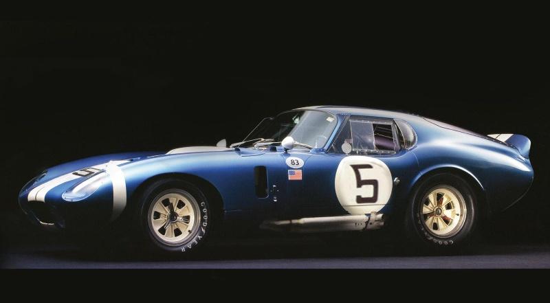 shelby-cobra-daytona won its class at the 1964 Le Mans
