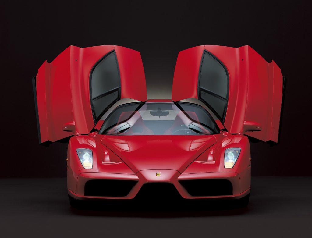 The Enzo Ferrari was styled by Pininfarina