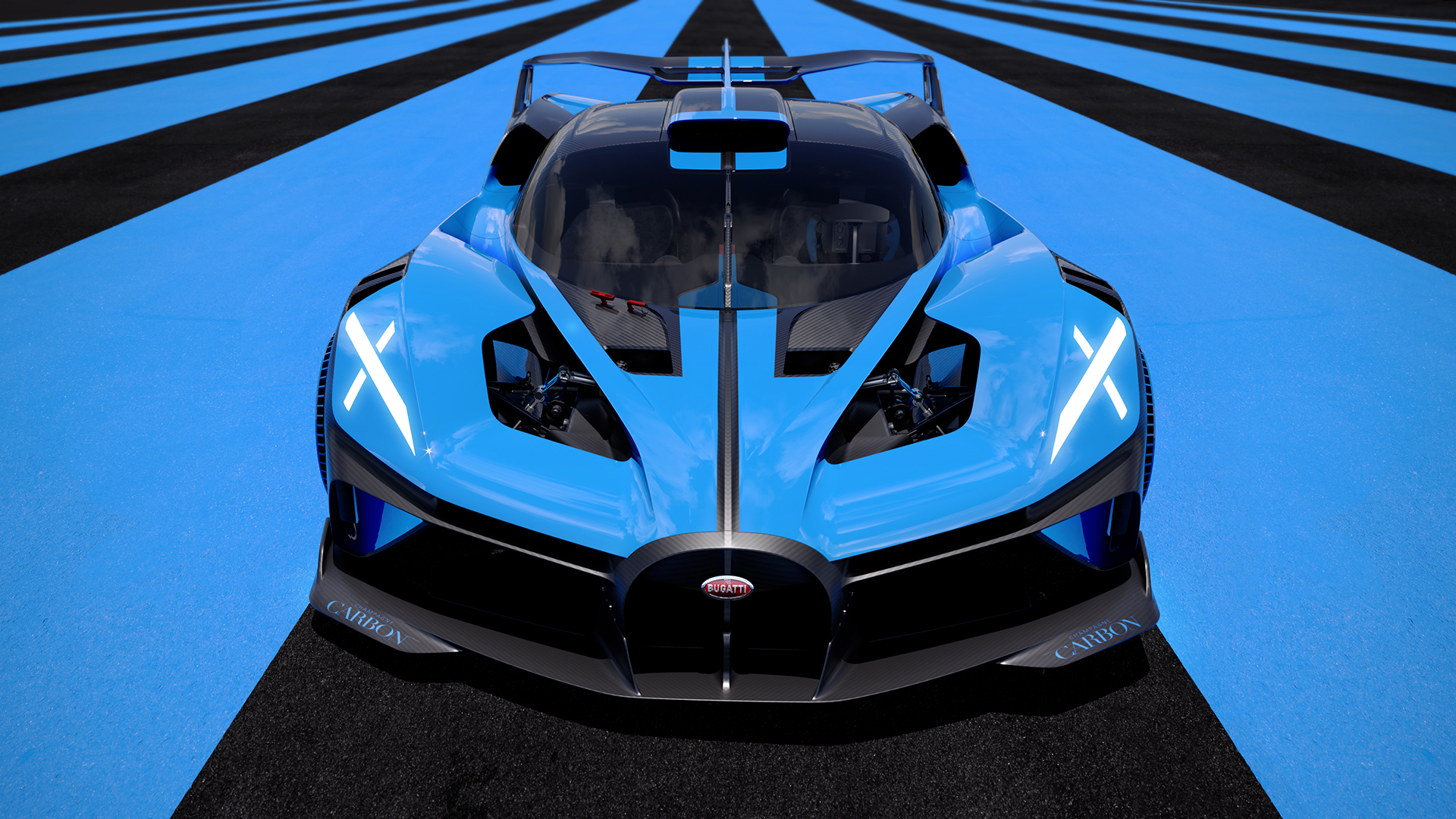 Bugatti Bolide hypercar breaks cover and breaks the internet